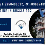 Study Medicine in Russia 2021 Twinkle InstituteAB